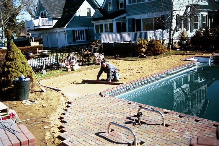 Ronkonkoma Backyard Repair