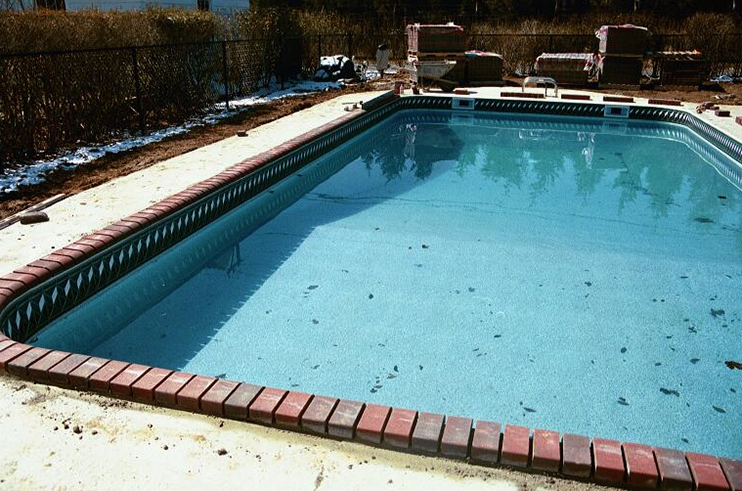 New York long island Pool Hardscape