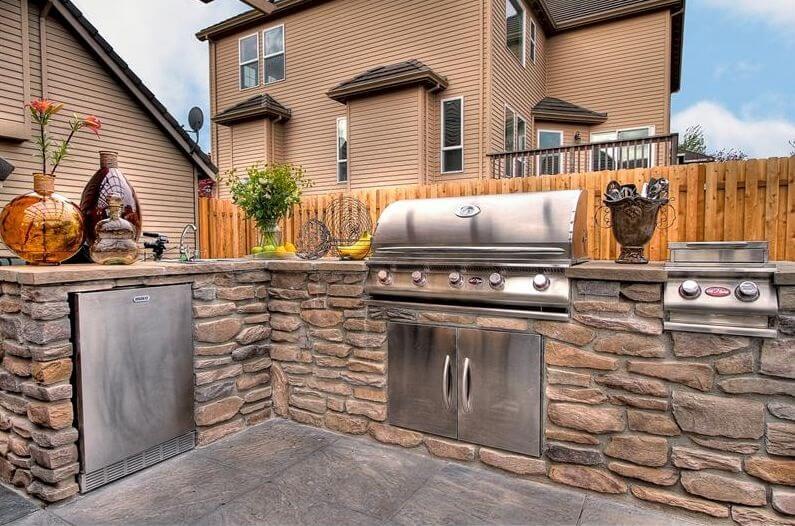 Suffolk County Outdoor Kitchen | Port Jefferson Pool Services ...