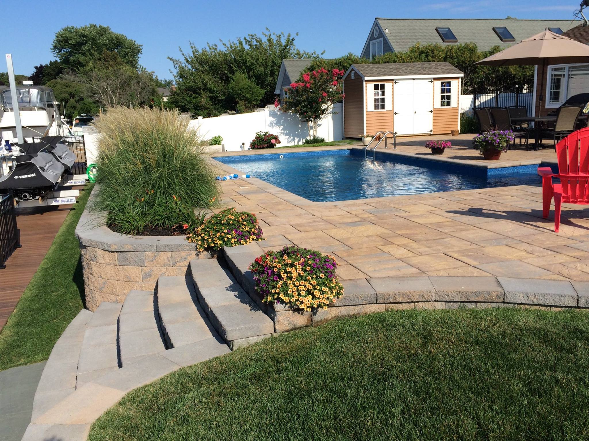 Long Island Pool Patios
