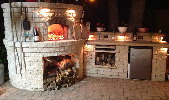 Wading River Outdoor Brick Oven