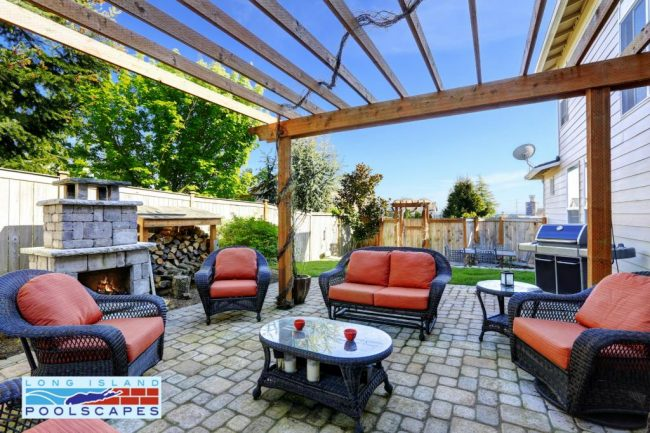 Long Island Backyard Renovations Suffolk County Pool Patios Islip
