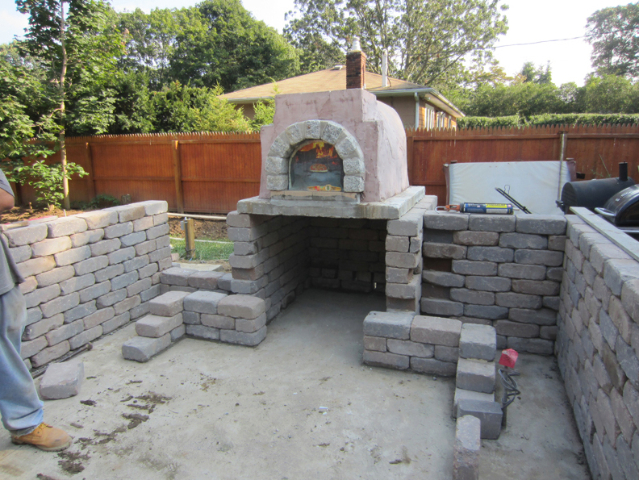 LI Outdoor Kitchen Ronkonkoma Brick Oven – Brick Outdoor Kitchen